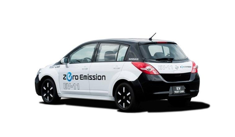 Nissan Electric concept exterieur 1