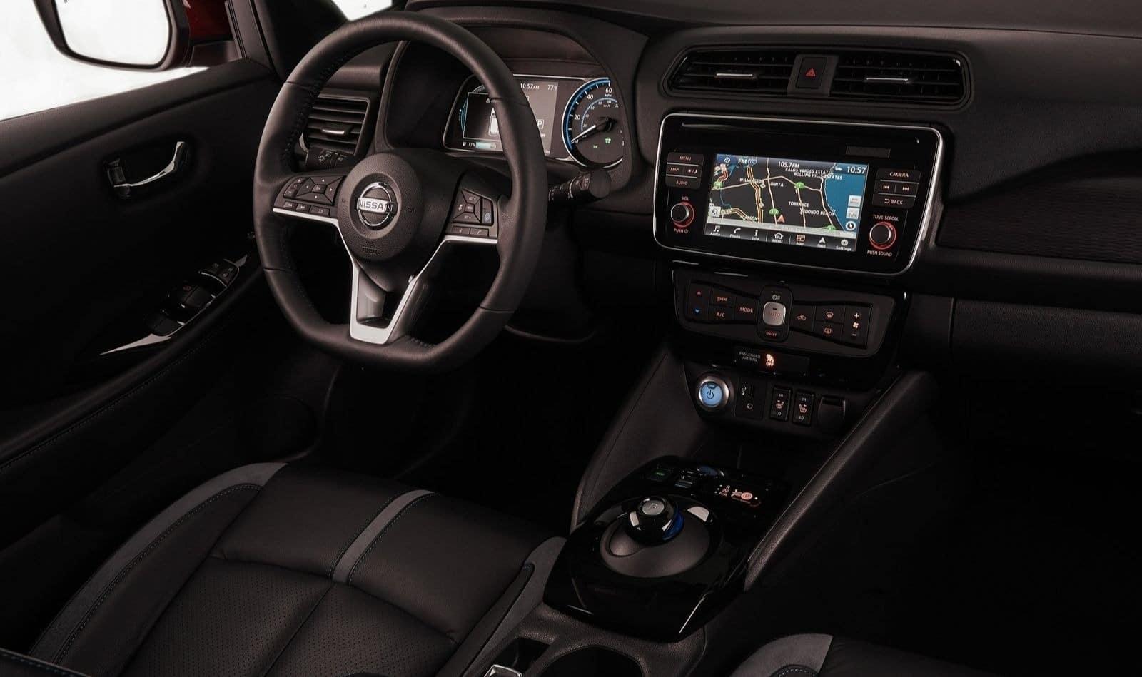 Nissan Leaf generation2 interieur 1
