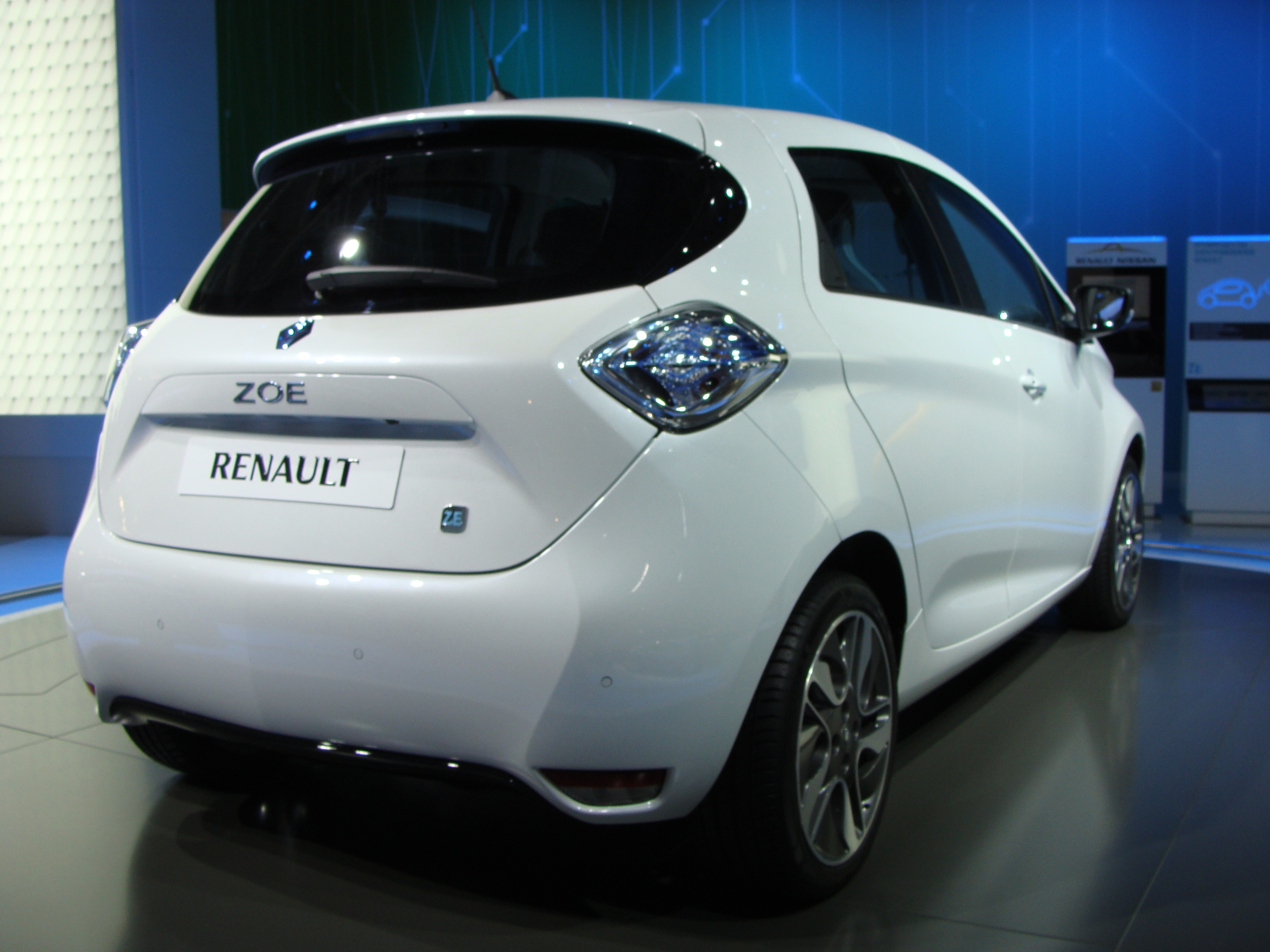 Renault Zoe Phase 1 Exterieur 2