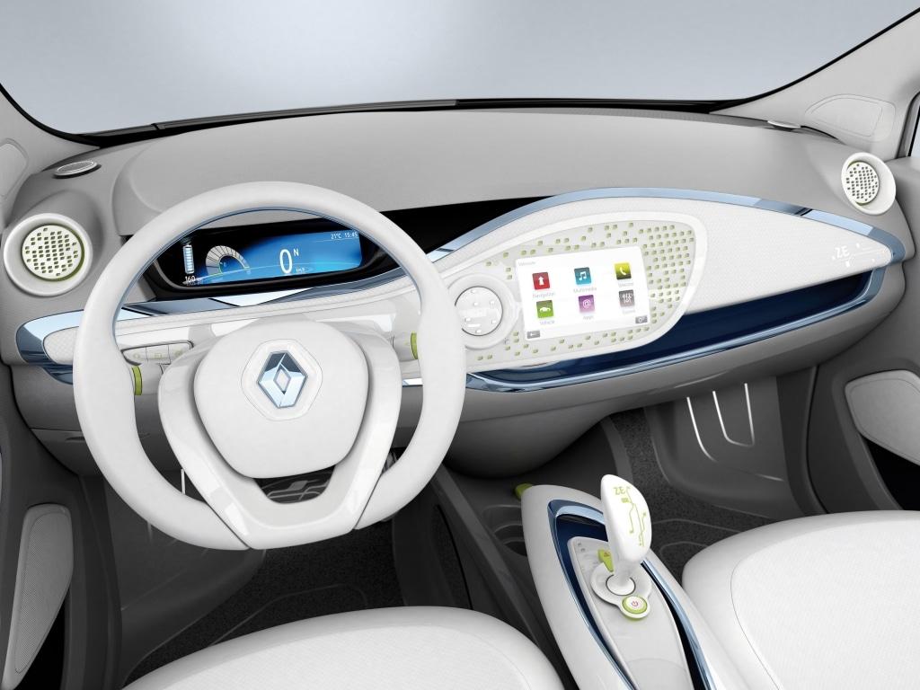 Renault Zoe Preview Interieur
