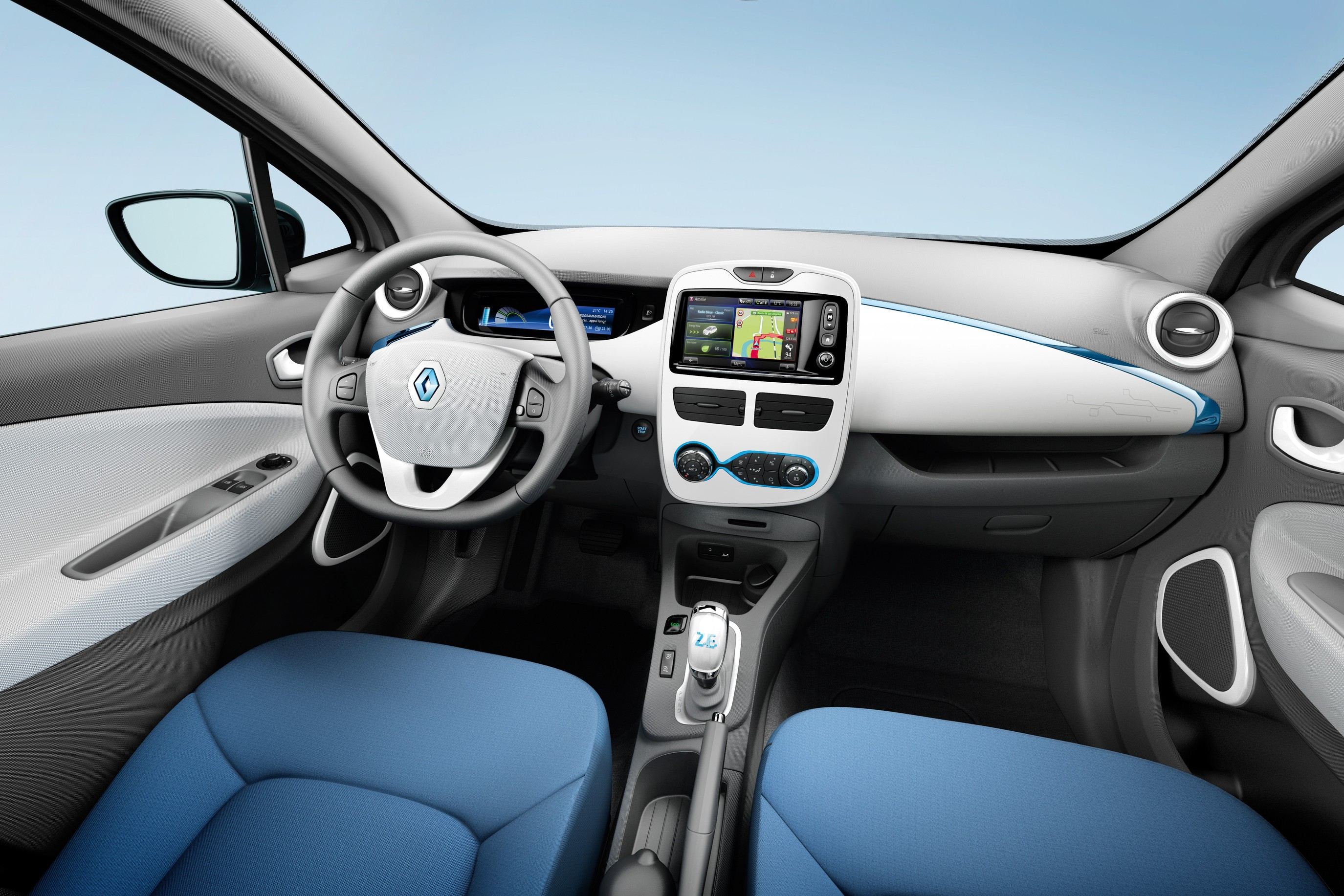 Renault Zoe Phase 1 Interieur