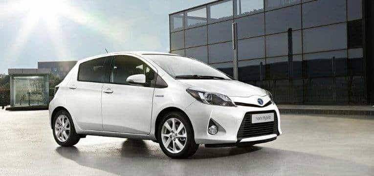 Voiture hybride Toyota Yaris