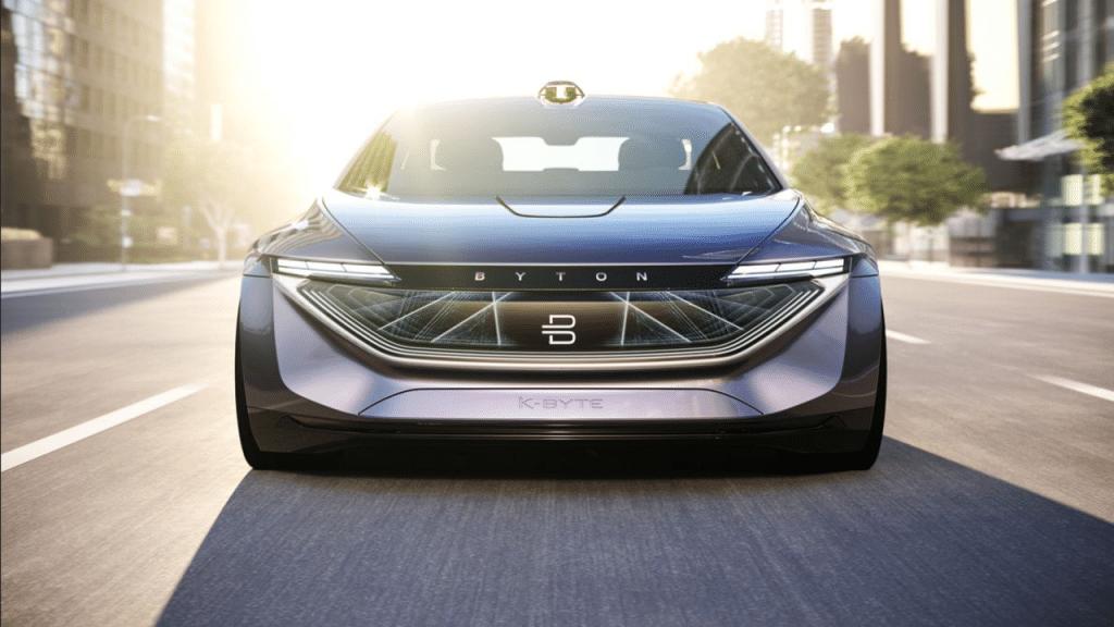 M-Byte voiture electrique