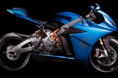 Lightning strike moto electrique