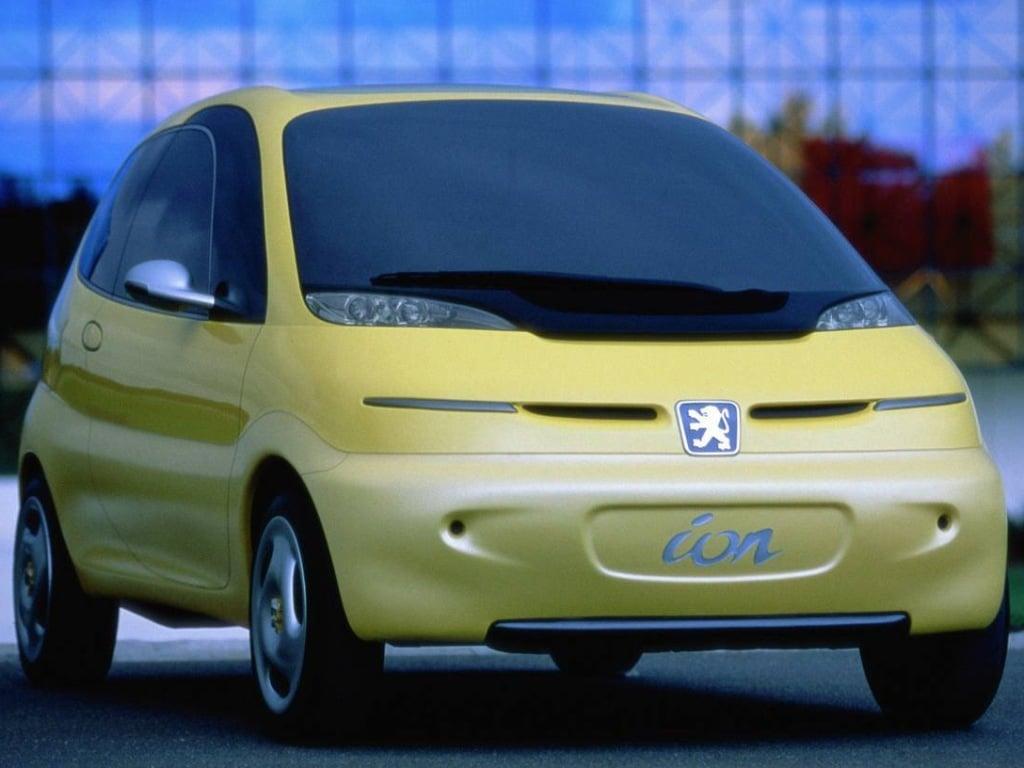 peugeot ion concept car