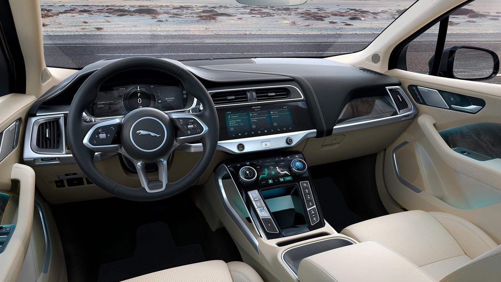 jaguar électrique intérieur