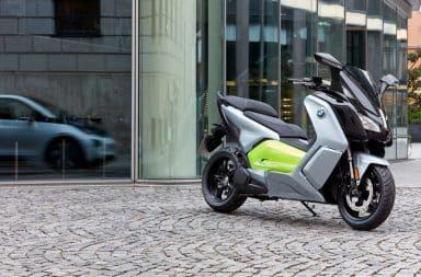 BMW C evolution scooter électrique