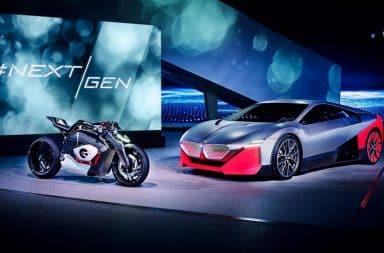 moto électrique bmw