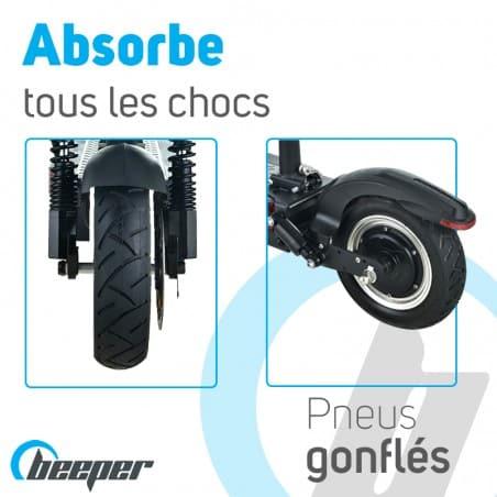trottinette-electrique-max-fx10-g2-pneus