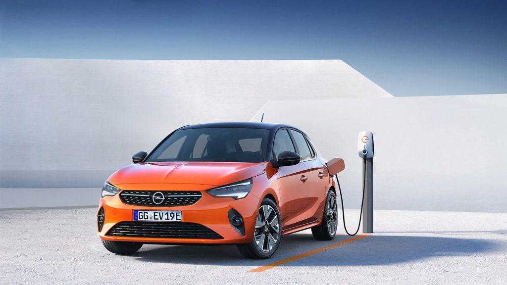 modele voiture electrique 2020 - corsa-e