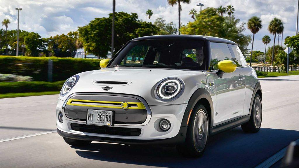 modele voiture electrique 2020 - cooper se